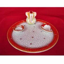 Handcrafted Pooja Thali