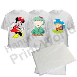 sublimation paper for dark laite t shirt