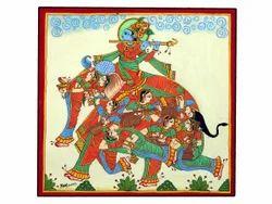Phad Painting Nari Gunjan