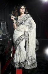 Zarine Khan Net Designer Saree