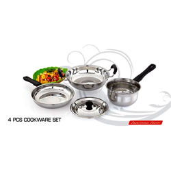 4 Pcs Cookware Set