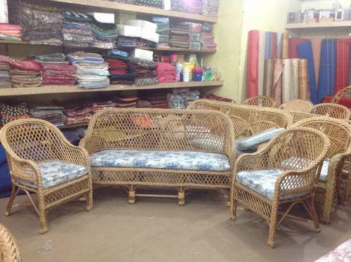 Cane Furniture Cane Sofa Set Wholesaler From Coimbatore