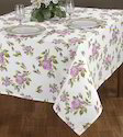 Rose Printed Tablecloth