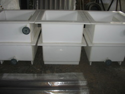 PVDF Cylindrical Tanks
