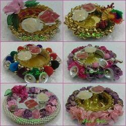Handmade Pooja Thali Designs