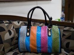 Multi Colour Dotted Medium Bag