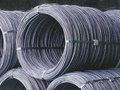 low carbon steel hot rolled wire rods processed wires