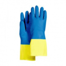 Latex Dual Cover Gloves