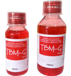 Terbutaline Bromhexine Guaiphenasin Menthol Syrup