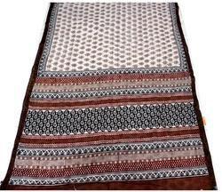 Hand Block Printed Ethnic Cotton Saree