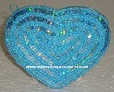 Heart Shape Handcrafted Coin Bag