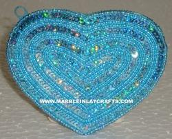 heart shape coin bag