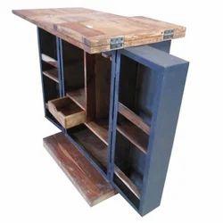 Open Bar Cabinet