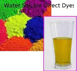 Direct Dyes Water Soluble Direct Dyes Manufacturer From