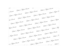 Gift Wrapping Logo Printed Tissue Papers