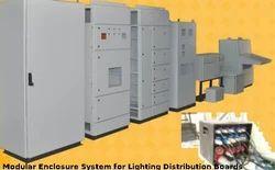 Modular Enclosure System for Lighting Distribution Boards