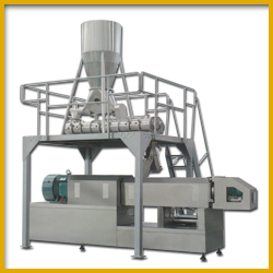 Large Double Screw Extruder for Soya Food Manufacturing