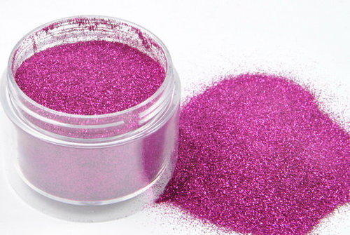 Peach Glitter Powder