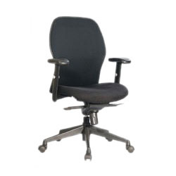 Foam Mesh Mid Back Chair