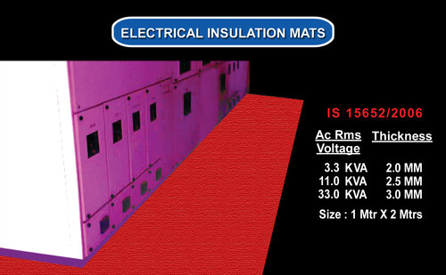 Electrical Mats 3.3 Kv  (2 Years Warranty)