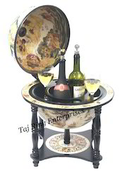 Standing Wine Nautical Decor Globe