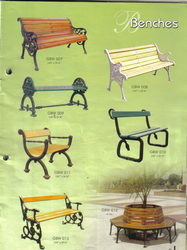 Various Cast Iron Benches