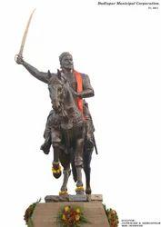 Maharaja Shivaji Bronze Sculpture