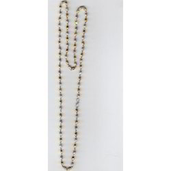 nickel plated beaded chain