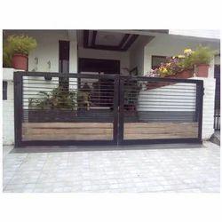 Black Designer Gate