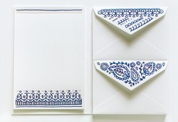 Custom Printed Envelopes With Matching Writing Paper