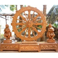 Antique Konark Wheel