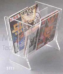 Acrylic - Magazine Rack