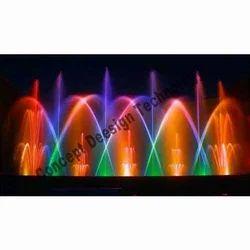 Circular Musical Fountain