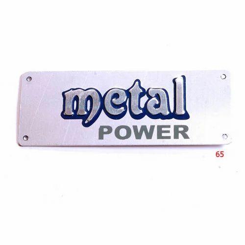 Embossed Metal Labels