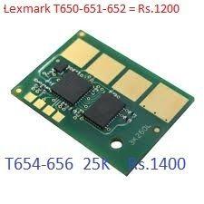 Lexmark-T650-T652-T654-T656-25K Chip Resetter
