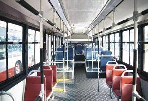 Transport Sector Plywood Aluminium Composite Bus