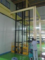 Hydraulic Vertical Goods Elevators