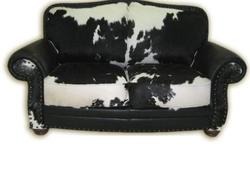 Cowhide Hide Sofa Set