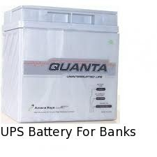 UPS Battery For Banks