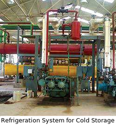 Refrigeration System for Cold Storage