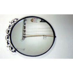 Steel Round mirror