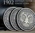 1902 Antique Silver...
