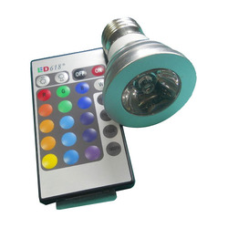 LED RGB Bulb with Remote