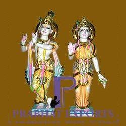 Radha Krishana Marble Statue