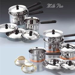 SS Milk Pan Set
