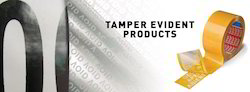 Tamper Evident Products