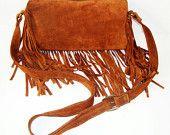 Fringe Leather Bags