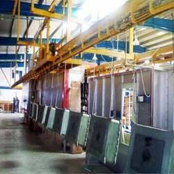 powder coating conveyor