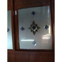 Designer Glass Wardrobe