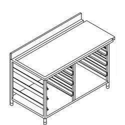 Rack Landing Table
